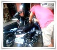 usaha cuci motor mobil