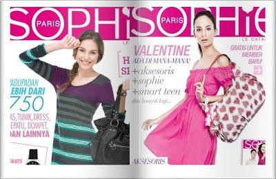 majalah sophie martin
