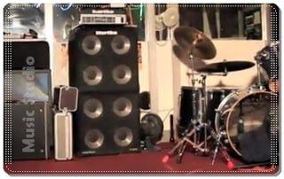 usaha rental sewa studio musik
