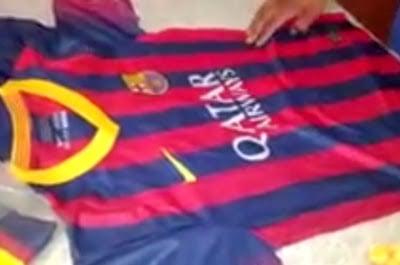 jersey barcelona fc