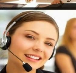 customer service cantik