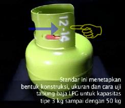 tabung gas elpiji bagus
