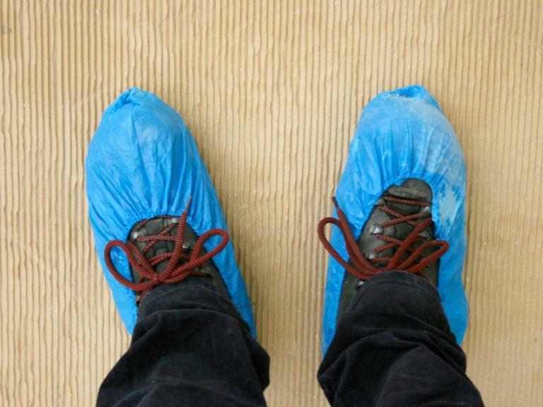 pelindung sepatu