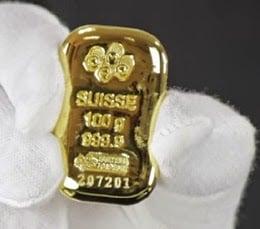 emas batangan lantakan