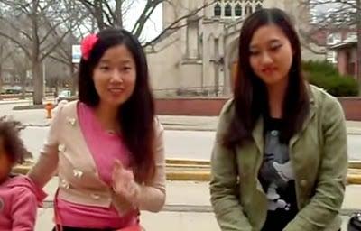 wanita asia modern