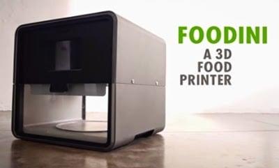 mesin cetak printer makanan 3 dimensi