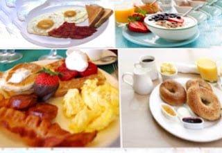 Sarapan pagi sehat