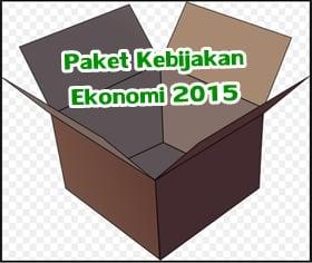 paket kebijakan ekonomi pemerintah