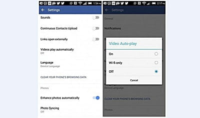 autoplay video android