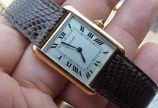 jam tangan cartier