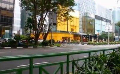 wisata belanja oleh oleh singapura orchard road