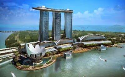 wisata belanja oleh oleh singapura marina bay