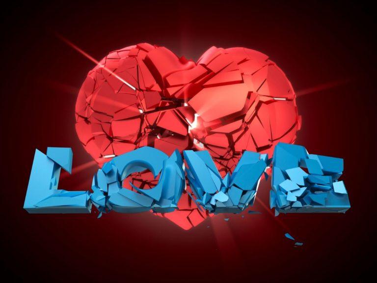 hati hancur