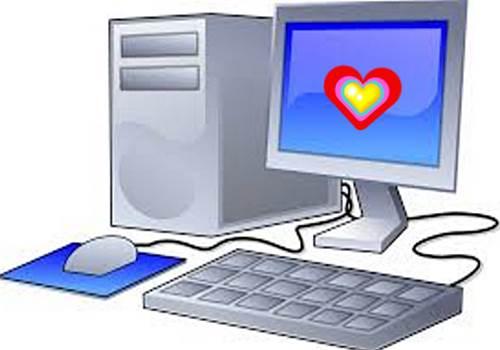 komputer cinta