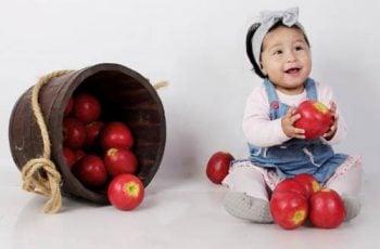 buah untuk bayi